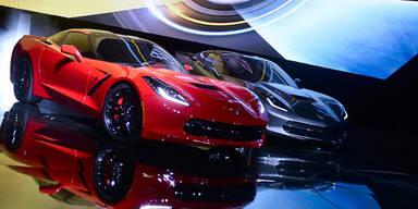 Autoshow in Detroit mit Neuheiten-Feuerwerk