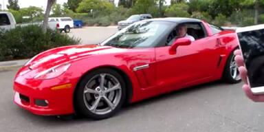 Hacker stoppen Corvette per SMS