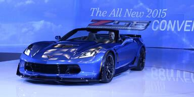 So kommt das neue Corvette Z06 Cabrio
