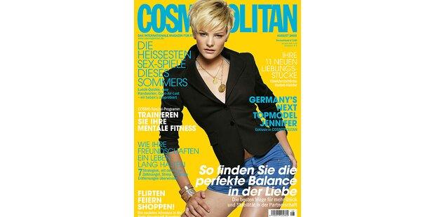 Kücken Jenny ist endlich auf dem Cover