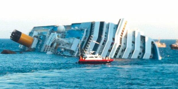 Costa Concordia-Wrack wird aufgerichtet