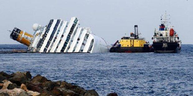 Concordia: Abpumpen des Treibstoffs beginnt