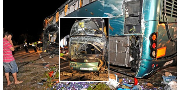 Sechs Tote bei Bus-Crash an Costa Brava