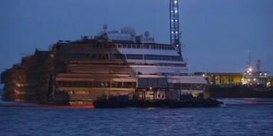Costa Concordia Kapitän beschuldigt Steuermann