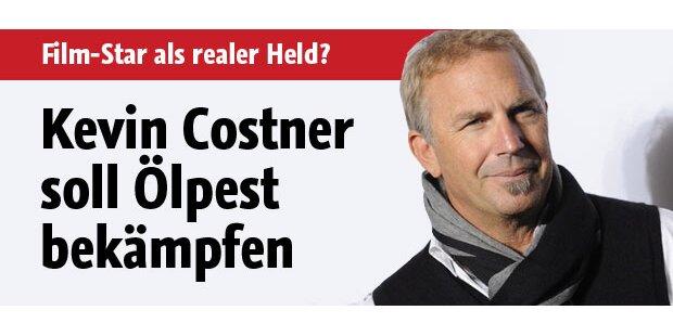 Kevin Costner soll Ölpest bekämpfen