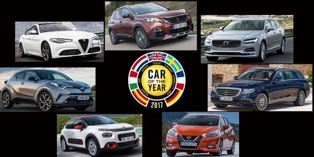 Car of the Year 2017: Die Finalisten