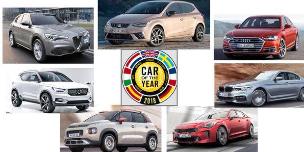 Car of the Year 2018: Die Finalisten