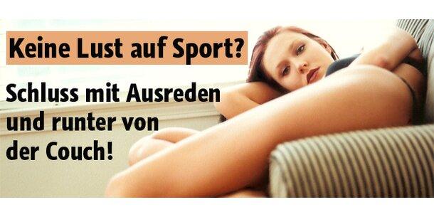 Sie haben keine Lust auf Sport?