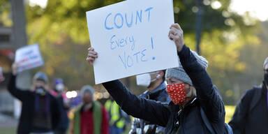 US-Wahl: Alptraum von 2000 vor Wiederholung?