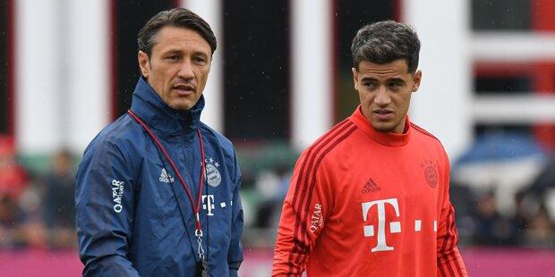 Kovac: Coutinho hat Nachholbedarf