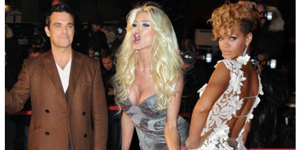 Award-Show: Mode, Sex & eine Panne