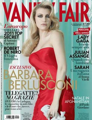 Barbara Berlusconi auf dem Cover von Vanity Fair