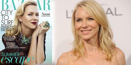 Naomi Watts ziert die neue Harper's Bazaar