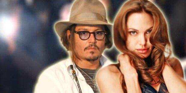 Drehbeginn für Jolie-Depp-Film