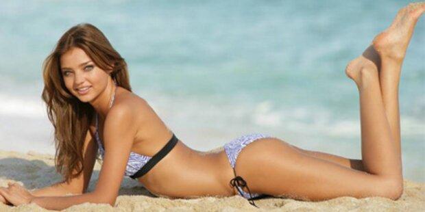 Miranda Kerr sündig in sexy Beachwear