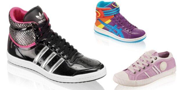 Kunterbunte & kultige Sneaker-Trends