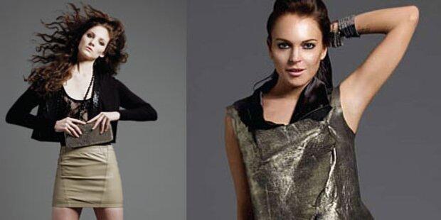 Lindsay Lohans neue Luder-Kollektion