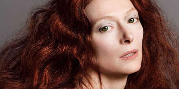 Tilda Swinton V Magazin Schauspielerin Pringle Of Scotland