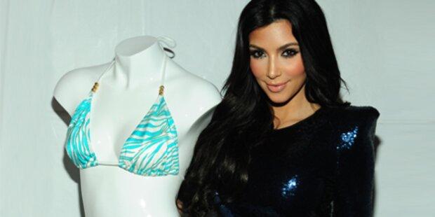 Kim Kardashian als Bikini-Designerin