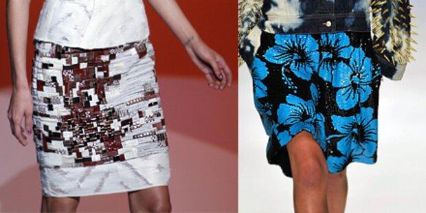Röcke als hippe Fashion-Farbtupfer