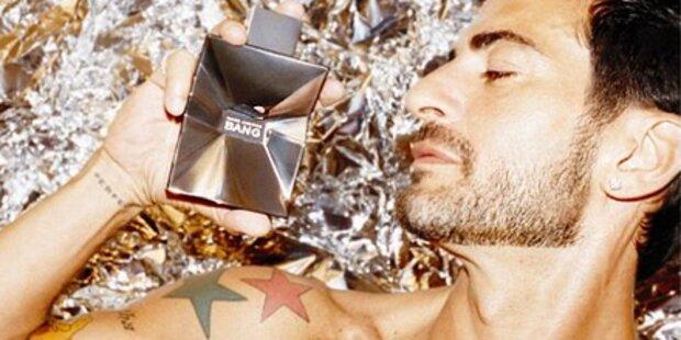 Marc Jacobs wirbt nackt für Duftwasser