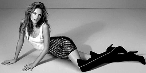 So scharf ist 'Engel' Alessandra Ambrosio