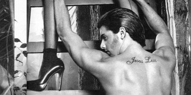 So sexy: Jesus Luz in 3D-Kampagne