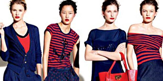 Marine mal anders - freche Looks von DKNY
