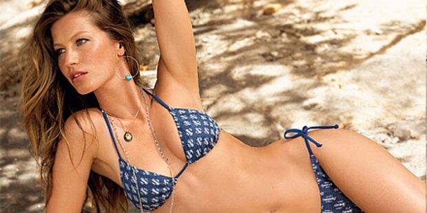 Hot! Gisele Bündchen zeigt Bikinis