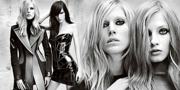 Versaces Weltraumlooks als sexy Kampagne