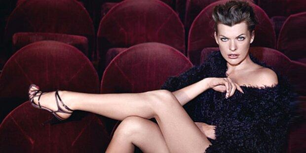 Verführung? Milla Jovovich für Escada