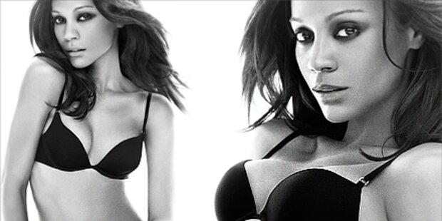 Avatar-Beauty Zoe Saldana zeigt viel Haut