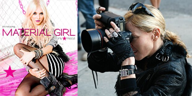 Hinter den Kulissen von 'Material Girl'