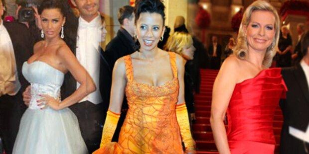 Die Wahl der schönsten Opernball-Robe