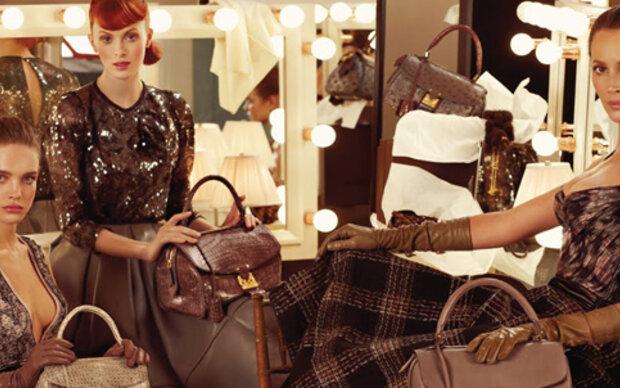 Drei Schönheiten für Louis Vuitton