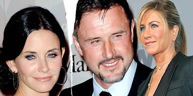 Jennifer Aniston Courteney Cox-Arquette Trennung David