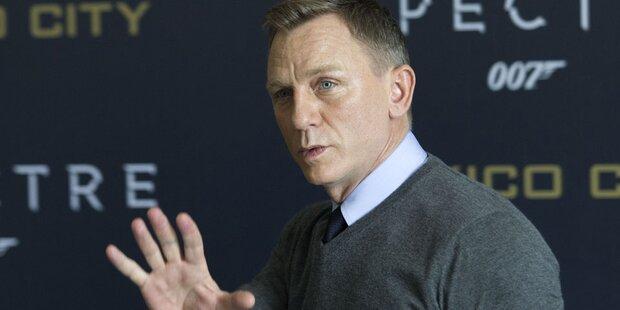 Bond-Dreh: Explosionen und Verletzungen