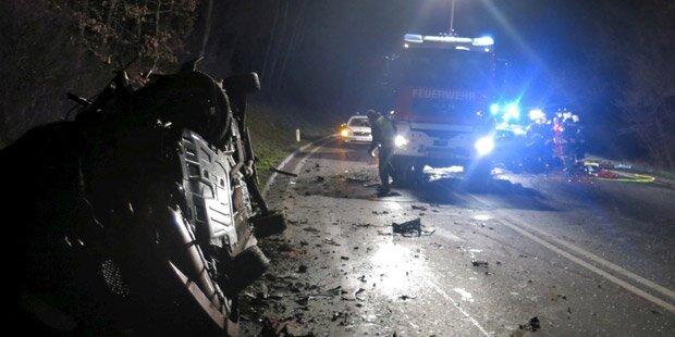Einjähriges Kind bei Crash verletzt