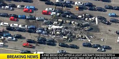 Bin Laden-Flugzeug abgestürzt
