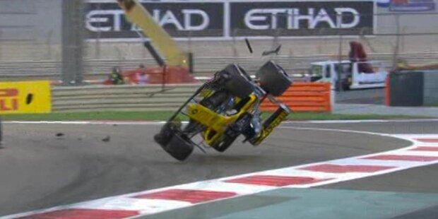 Schock-Crash bei Hamilton-Sieg!