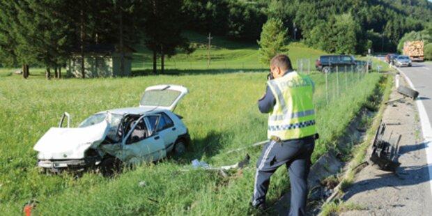 Frontal-Crash in Frohnleiten