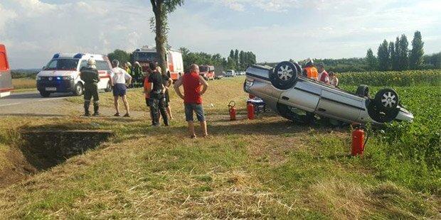 Horror-Crash: Verursacher geflüchtet
