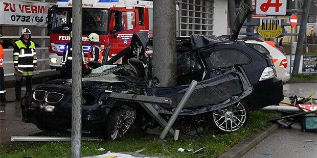 Salzburg: Zwei Tote bei Horror-Crash