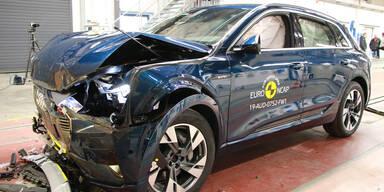 T-Cross, Clio, Mazda3, Evoque, e-tron & Co. im Crashtest