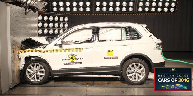 Die sichersten Autos des Jahres 2016