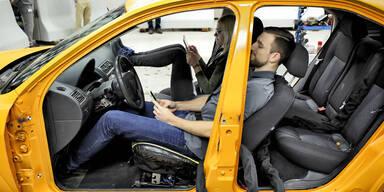 So gefährlich ist falsche Sitzposition im Auto