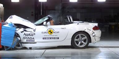 Aktueller Crashtest: Nur 3 Sterne für BMW Z4