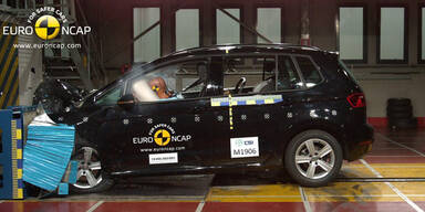 EuroNCAP-Crashtest: 6 Autos, einmal 5 Sterne
