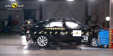 Gute Ergebnisse im EuroNCAP-Crashtest