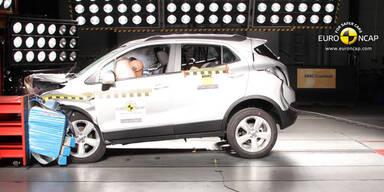 14 neue Autos im EuroNCAP-Crashtest